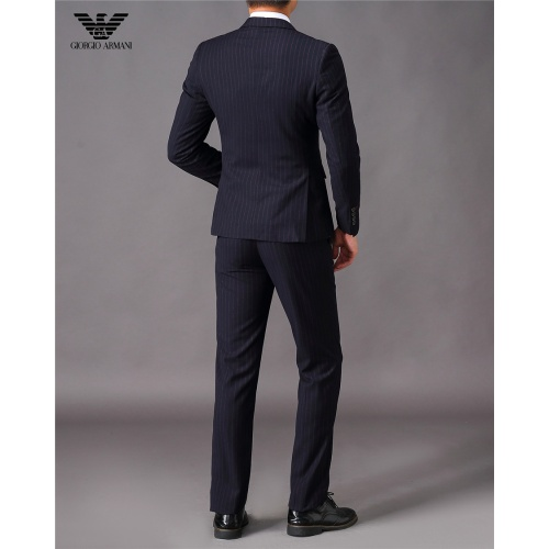 Cheap Armani Two-Piece Suits Long Sleeved For Men #810544 Replica Wholesale [$88.00 USD] [W#810544] on Replica Armani Suits