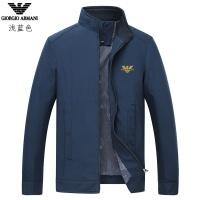 Armani Jackets Long Sleeved Zipper For Men #807083