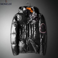Moncler Down Feather Coat Long Sleeved Zipper For Men #808797