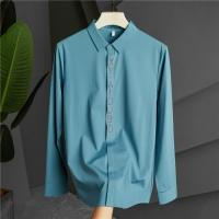 Armani Shirts Long Sleeved Polo For Men #809067
