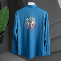 Givenchy Shirts Long Sleeved Polo For Men #809260
