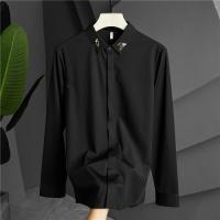 Armani Shirts Long Sleeved Polo For Men #809267