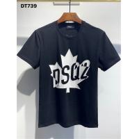 Dsquared T-Shirts Short Sleeved O-Neck For Men #810056