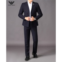 Armani Two-Piece Suits Long Sleeved For Men #810544