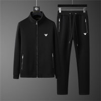 Armani Tracksuits Long Sleeved Zipper For Men #810568