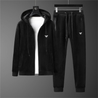 Armani Tracksuits Long Sleeved Zipper For Men #810578