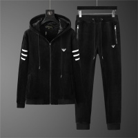 Armani Tracksuits Long Sleeved Zipper For Men #810580