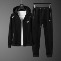 Armani Tracksuits Long Sleeved Zipper For Men #810582