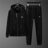 Armani Tracksuits Long Sleeved Zipper For Men #810583