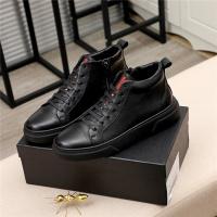 Prada High Tops Shoes For Men #811688
