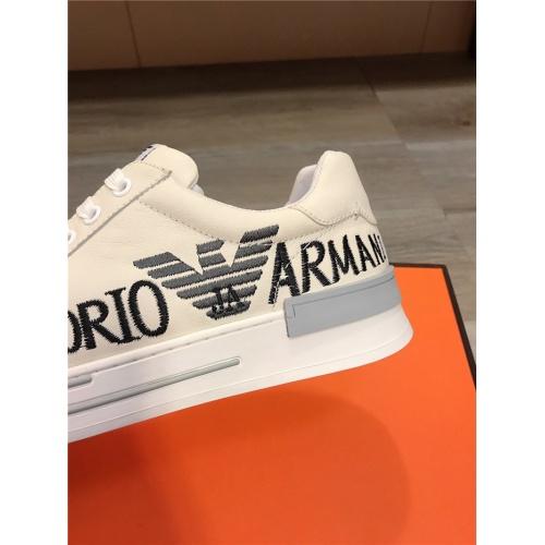Cheap Armani Casual Shoes For Men #818735 Replica Wholesale [$76.00 USD] [W#818735] on Replica Armani Casual Shoes