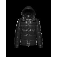 Moncler Down Feather Coat Long Sleeved Zipper For Men #813252