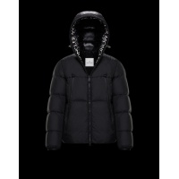 Moncler Down Feather Coat Long Sleeved Zipper For Men #813253