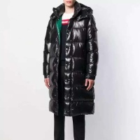 Moncler Down Feather Coat Long Sleeved Zipper For Men #813257