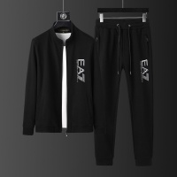 Armani Tracksuits Long Sleeved Zipper For Men #813477