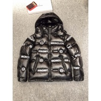 Moncler Down Feather Coat Long Sleeved Zipper For Men #814543