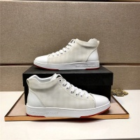 Armani High Tops Shoes For Men #818217