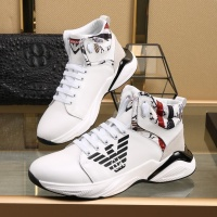 Armani High Tops Shoes For Men #818271