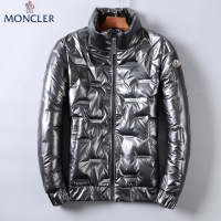 Moncler Down Feather Coat Long Sleeved Zipper For Men #818667