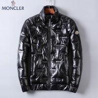 Moncler Down Feather Coat Long Sleeved Zipper For Men #818668