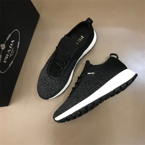 Cheap Prada Casual Shoes For Men #822950 Replica Wholesale [$80.00 USD] [W#822950] on Replica Prada Casual Shoes