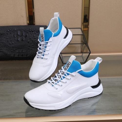Cheap Armani Casual Shoes For Men #827078 Replica Wholesale [$82.00 USD] [W#827078] on Replica Armani Casual Shoes