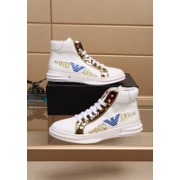 Armani High Tops Shoes For Men #819036