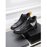 Armani High Tops Shoes For Men #819750
