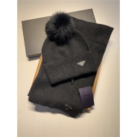 Prada Scarf & Hat Set #820794