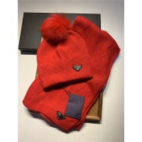 Prada Scarf & Hat Set #820796