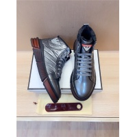 Armani High Tops Shoes For Men #821062