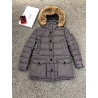 Moncler Down Feather Coat Long Sleeved Zipper For Men #821577