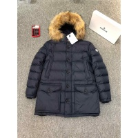 Moncler Down Feather Coat Long Sleeved Zipper For Men #821578