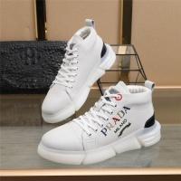 Prada High Tops Shoes For Men #823589
