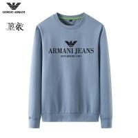 Armani Hoodies Long Sleeved O-Neck For Men #824029