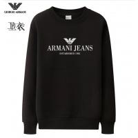 Armani Hoodies Long Sleeved O-Neck For Men #824031