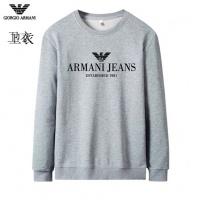 Armani Hoodies Long Sleeved O-Neck For Men #824032
