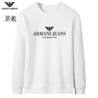 Armani Hoodies Long Sleeved O-Neck For Men #824033