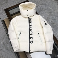 Moncler Down Feather Coat Long Sleeved Zipper For Men #824712