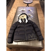 Moncler Down Feather Coat Long Sleeved Zipper For Men #824719