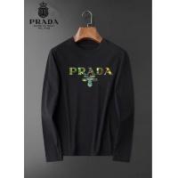 Prada T-Shirts Long Sleeved O-Neck For Men #826356
