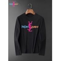 Yves Saint Laurent YSL T-shirts Long Sleeved O-Neck For Men #826371