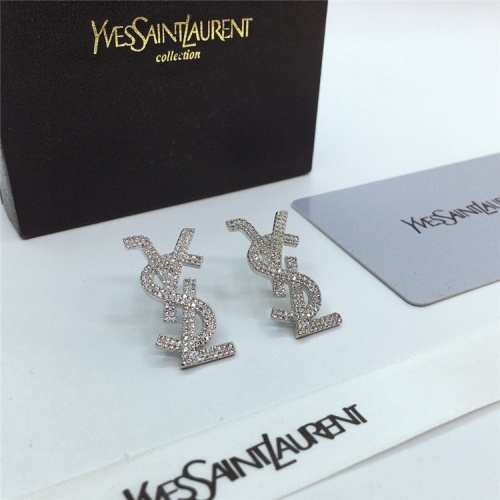 Cheap Yves Saint Laurent YSL Earring For Women #831565 Replica Wholesale [$35.00 USD] [W#831565] on Replica Yves Saint Laurent YSL Earring
