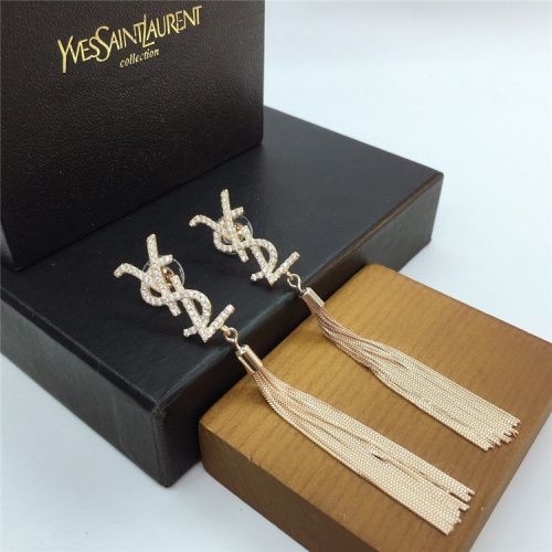 Cheap Yves Saint Laurent YSL Earring For Women #831567 Replica Wholesale [$35.00 USD] [W#831567] on Replica Yves Saint Laurent YSL Earring
