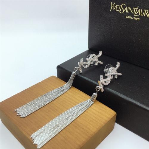Cheap Yves Saint Laurent YSL Earring For Women #831568 Replica Wholesale [$35.00 USD] [W#831568] on Replica Yves Saint Laurent YSL Earring