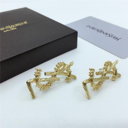 Cheap Yves Saint Laurent YSL Earring For Women #831569 Replica Wholesale [$26.00 USD] [W#831569] on Replica Yves Saint Laurent YSL Earring