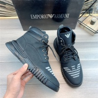 Armani High Tops Shoes For Men #830594