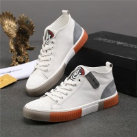 Armani High Tops Shoes For Men #832338