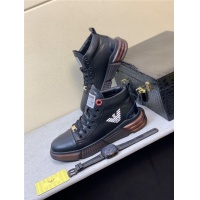 Armani High Tops Shoes For Men #832344