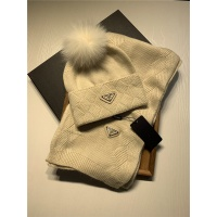 Prada Scarf & Hat Set #833803
